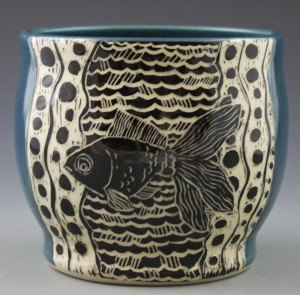 Patricia Griffin Gold Fish Cup