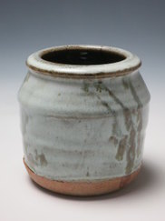 Jack Welbourne Vase, reduction stoneware, 14cm x 16cm, 2014