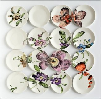 Molly Hatch Flower Plates