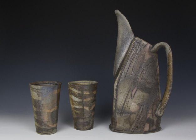 Brice Dyer Pitcher with Cups