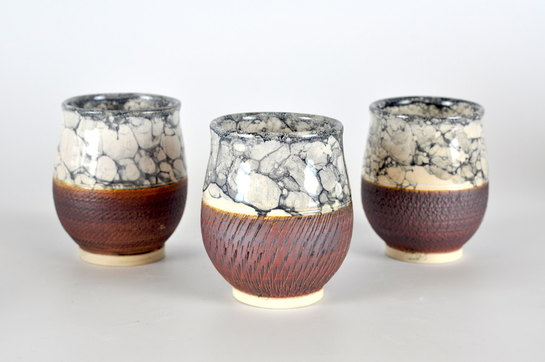 Hedy Yang Three Marbled Cups